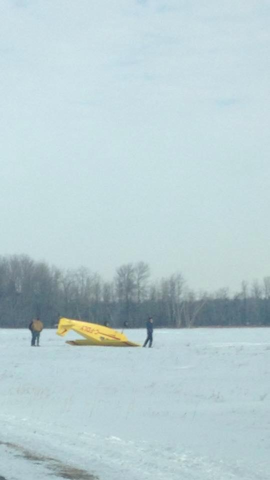 Airplane Lands Upside Down at Cornwall Regional Airport – JAN 15, 2015