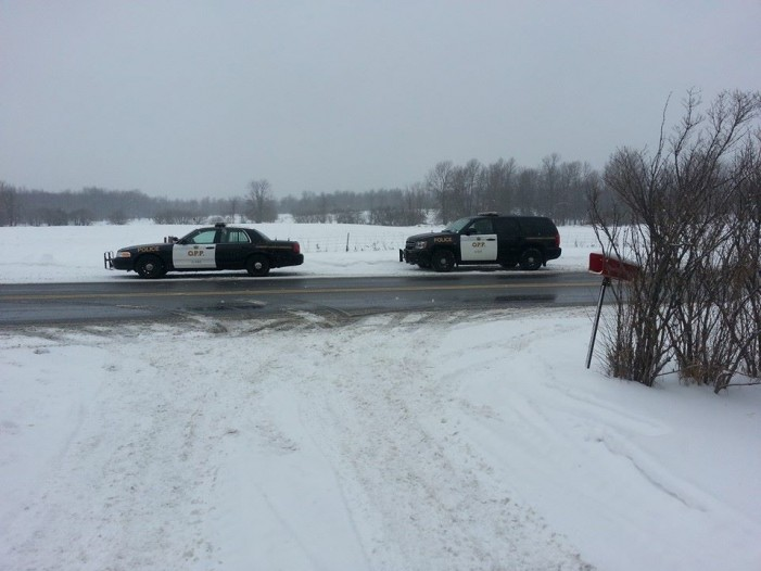 SD&G #OPP Respond to 72 Calls During Storm FEB 25, 2016