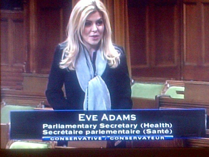 Harper MP Eve Adams Walks Across the Floor and Joins the Liberals – FEB 9, 2015