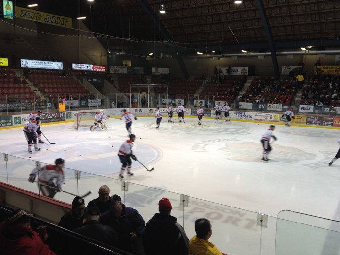 Cornwall River Kings Fail to Close LNAH Round 1 at Home – Game 7 in Sorel  MARCH 29, 2015