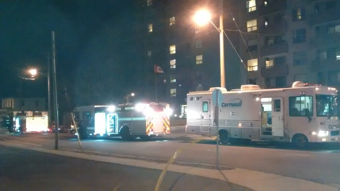 Fire Strikes Senior's Residence in Cornwall Ontario Sunday Night –   APRIL 6, 2015