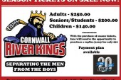 Cornwall River Kings to Host BBQ Sunday AUG 2, 2015 NEW SIGNINGS #LNAH