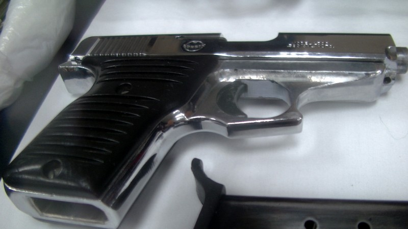 hand gun serial number rubbed off