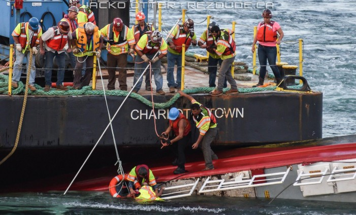 Jacko Otter of Rezdude.ca Captures Tug Boat Rescue in Cornwall Ontario  – JUNE 23, 2015