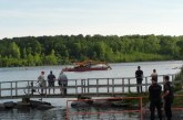 Boat Sinks During Bridge Demo in Cornwall Ontario VIDEO June 22, 2015