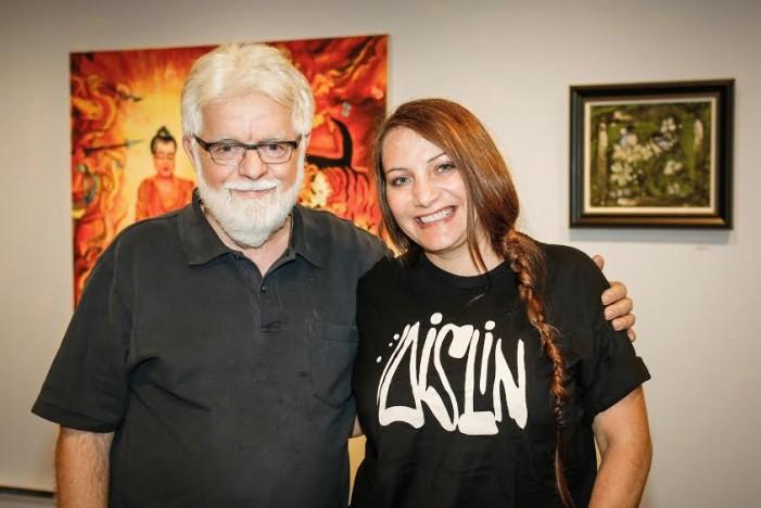 Aislin Visits Cornwall Ontario Ahead of September 16th Exhibit at TAG