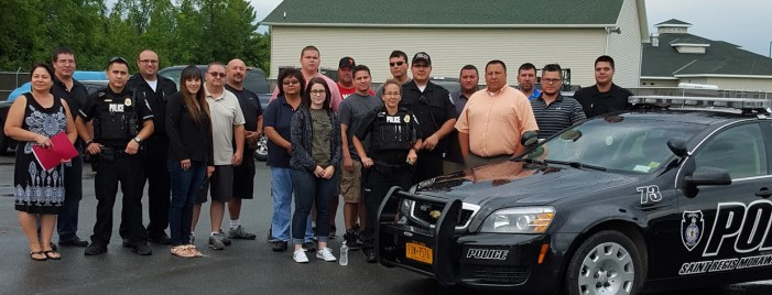 St. Regis Mohawk Tribal Police Gain Authority Over Hogansburg Triangle – AUG 15, 2015