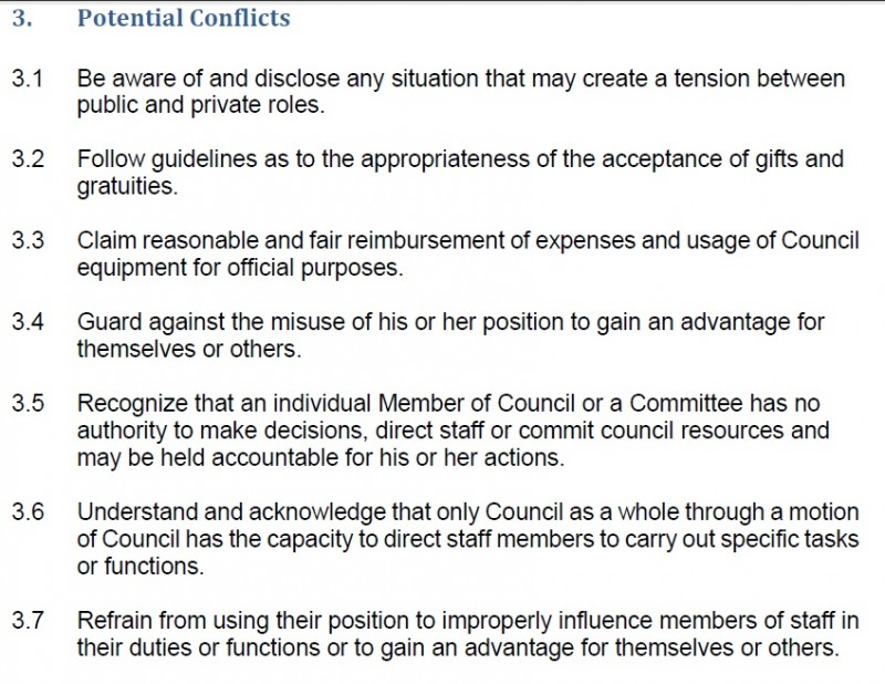 Code of Conduct 5