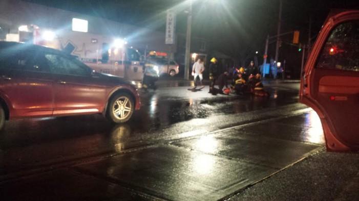 82 Year Old Mows Down Pedestrians in Alexandria Ontario DEC 11, 2015 OPP