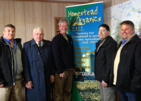 Homestead Organics Sebringville Feed Mill Purchase to Lead to Jobs in Perth County FEB 2, 2016