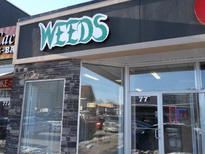 WEEDS Opens in Nation's Capitol – Safe Marijuana For Sale In Ottawa by Roy Berger  FEB 27, 2016