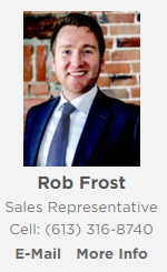 Who is Rob Frost or RB Frost?  Brock Fraud Spins Name & Switches Real Estate Firms In Ottawa MARCH 14, 2016