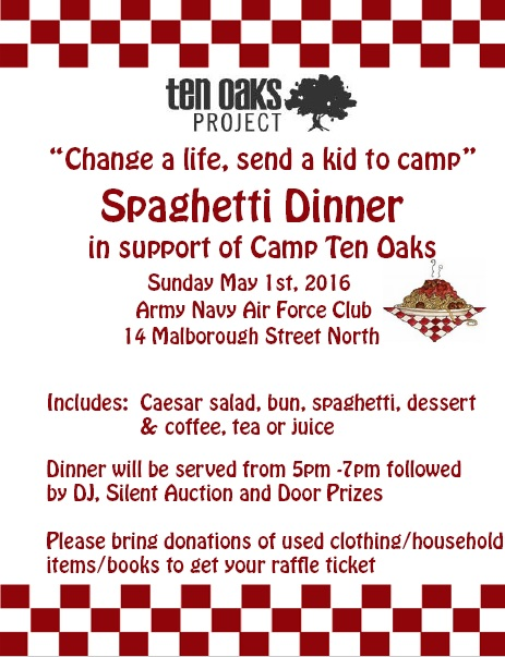 Camp Ten Oaks LGBTQ Kids Camp Fund Raiser  CLICK FOR DETAILS