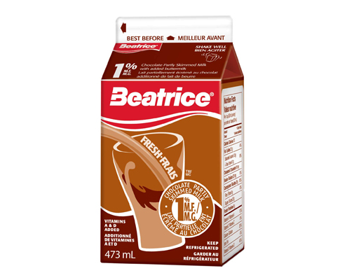 ALERT Beatrice Chocolate Milk RECALL in Ontario & Quebec MARCH 13, 2016