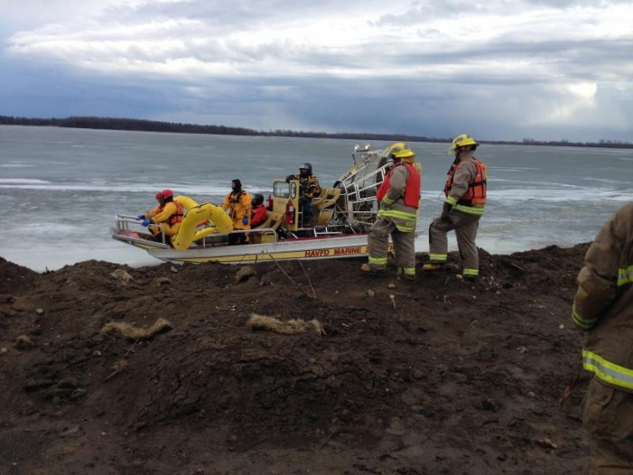 Ice Rescue & More Marijuana Charges in SD&G #OPP March 18, 2016