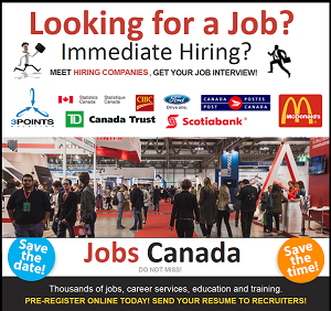 JOBS CANADA Ottawa Job Fair @ Westin Hotel MARCH 15, 2016 Click for Details!