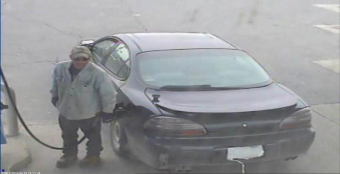 #OPP SD&G THEFT OF GAS at Monkland ESSO APRIL 20, 2016