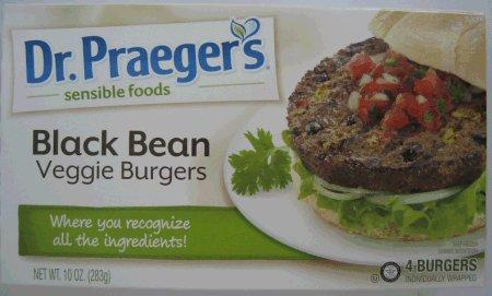 Dr. Praeger's Black Bean Veggie Burgers CFIA Listeria RECALL May 24, 2016
