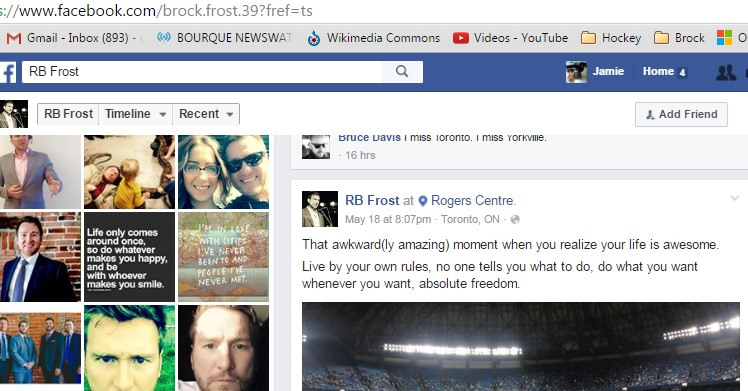 Brock Frost LIVE BY YOUR OWN RULES fb May 20 16