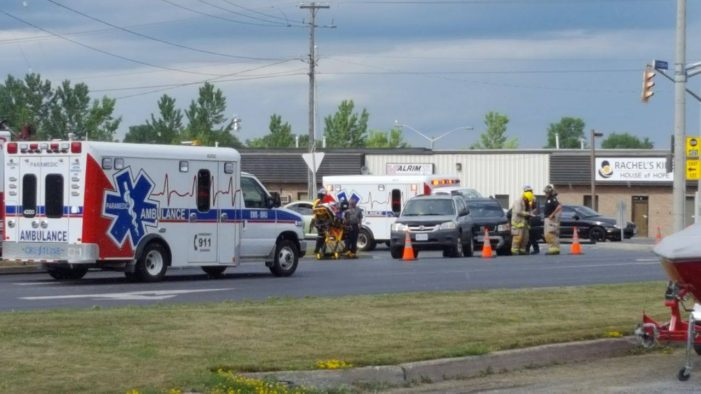 Medical Emergency Incident on Boundary & Marleau in Cornwall Ontario JUNE 28, 2016