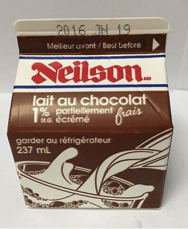 Neilson Chocolate Milk LISTERIA Recall Expands   JUNE 5, 2016