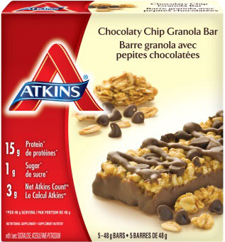 ATKINS DAY BREAK Bars RECALLED Over Listeria JUNE 6, 2016