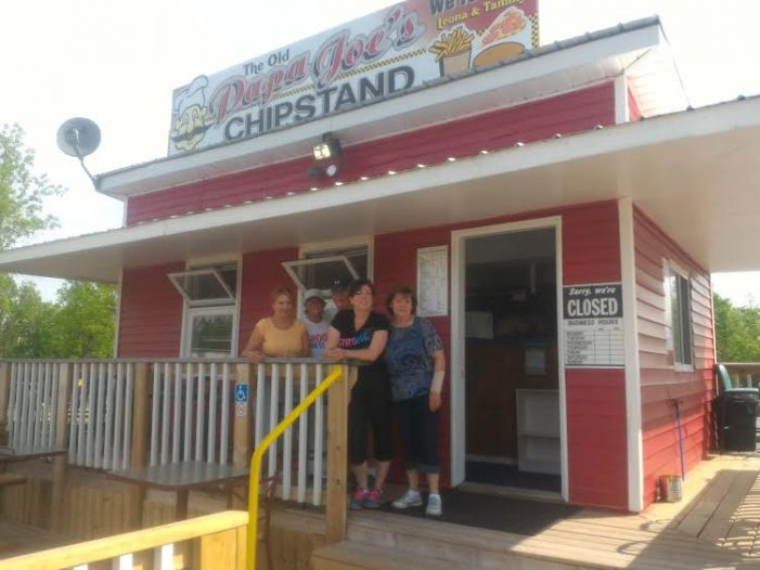 Ol Papa Joe's Chip Stand Opens in Bonville JUNE 14, 2016