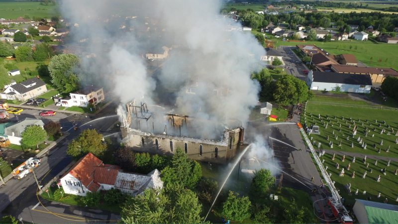 church fire st isadore facebook fin
