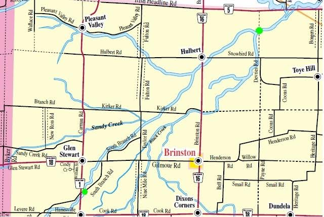 South Dundas To Close Two Bridges Due to Structural Issues SEPT 23, 2016