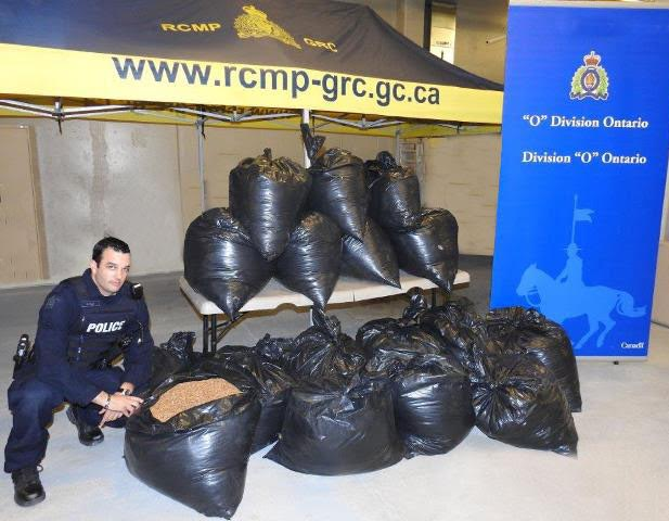 Latest CRTF Akwesasne South Glengarry Tobacco Bust SEPT 23, 2016