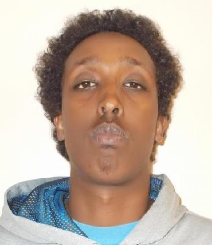 FEDERAL INMATE Wanted Mohamed Hersi   TORONTO OTTAWA Sept 16, 2016