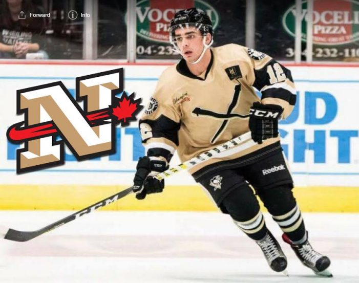 Cornwall Nationals Make First Trade & Sign Two Players OCT 21, 2016
