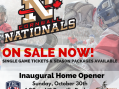 Cornwall Nationals Fill Roster for Season Opener SUNDAY OCT 30, 2016