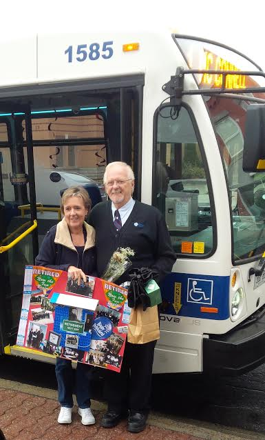 Cornwall Bus Driver Retires After 28 Years of Service NOV 16, 2016