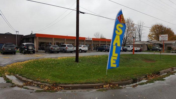 Hwy 43 Closed Near Smiths Falls as Rideau Market Place on Fire – NOV 6, 2016