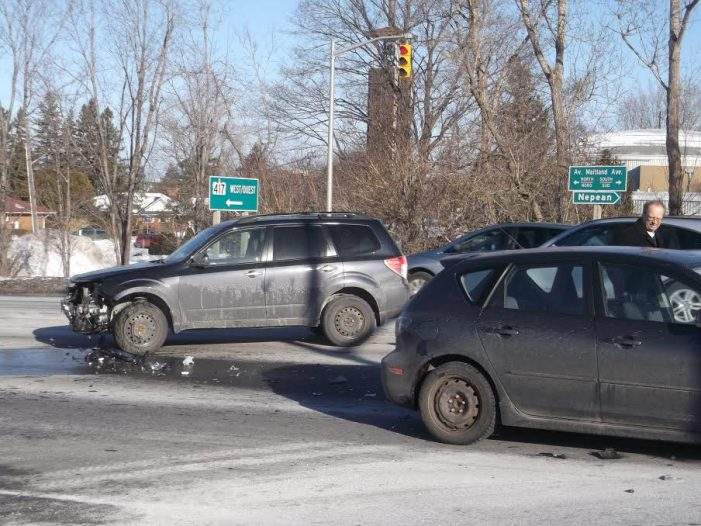 Two Vehicle Collision Maitland & 417 by Roy Berger DEC 28, 2016