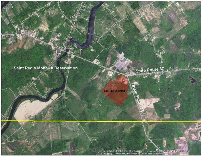 Saint Regis Mohawk Tribe to Develop 140 Acre Hogansburg Triangle Land MARCH 6, 2017