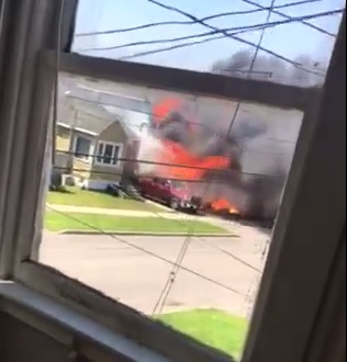 BREAKING – St. Felix Fire Started by Burning Trash in Front Yard MAY 17, 2017