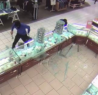 #SPVM Montreal Police Seek Assistance – Fairview Jewellry Story Robbers MAY 19, 2017