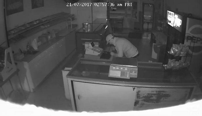 Dirtbag Breaks into Riley's Bakery in Cornwall 072617