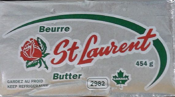CFIA LISTERIA Recall St.Laurent Butter in Quebec JULY 6, 2017
