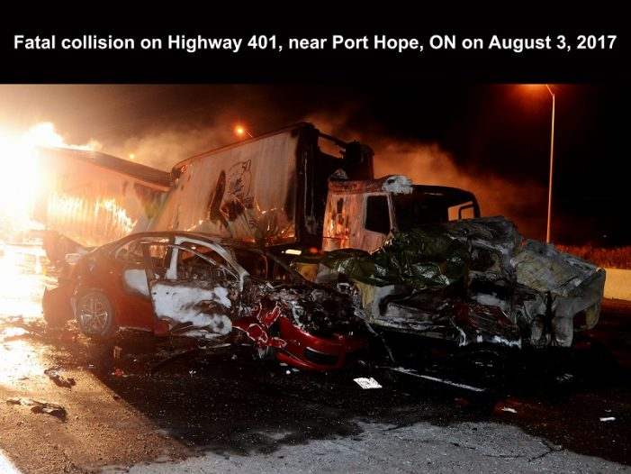 #OPP Commish – Driver Inattention @ Its Worst – 3 Truckers Charged 102617