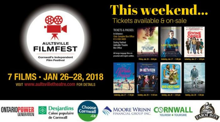 Did You Know Aulstville Filmfest Was this Weekend – Politics Mar Events in Cornwall 012818