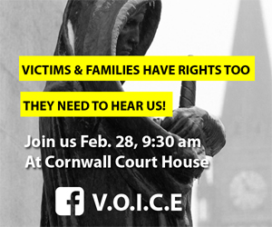 VOICE to Rally @ Courthouse in Cornwall Wednesday as Cadieux Calls for Firings 022818