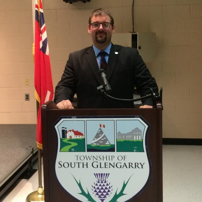 BREAKING South Glengarry Fires CAO Bryan Brown JAN 22, 2019