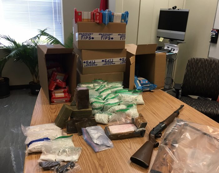 #OPP $350K Drug Bust in Embrun (Ottawa) 55,000 Meth Hits Hash & Weapons 032318