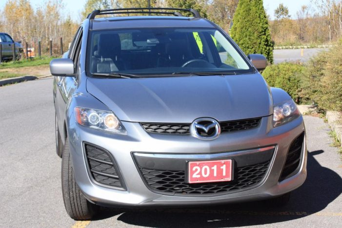 FITZGERALD MOTORS Car of the Week  ZOOM ZOOM! 2011 Mazda CX-7 GT in Cornwall