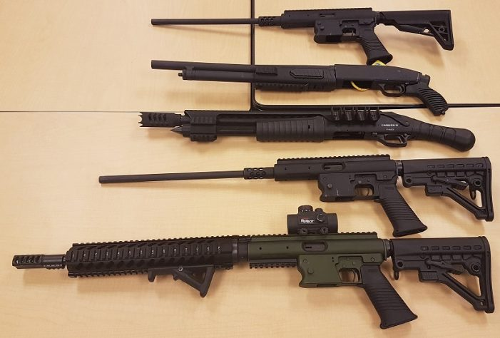 Big Weapons Bust by #OPP from USA to GTA 052318