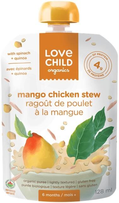 ALERT Love Child Organics PC Loblaws Baby Food CFIA NATIONAL RECALL 052618