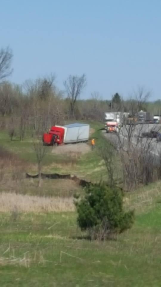 Major Tractor Trailer Accident on Hwy 138 Near Quail Road – Multiple #OPP on Scene WILL UPDATE 050818